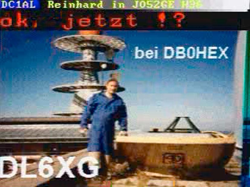 Gebhard Sengmüller - VSSTV - Very Slow Scan Television